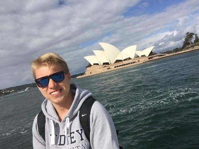 Lukas; Commercial Internship in Sydney