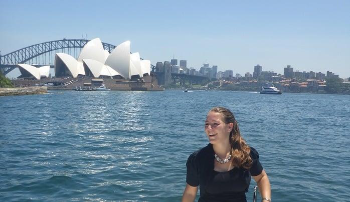 Lisa; Marketing Internship in Sydney