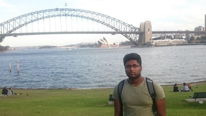 Purush; Mechanical Engineering Internship in Sydney
